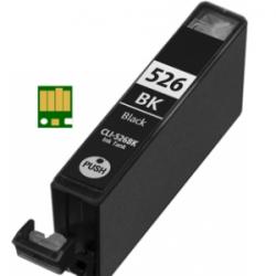 Canon CLI-526 Zwart met chip (huismerk)