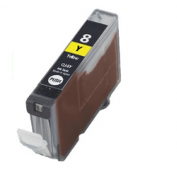 Canon CLI-8 Yellow met chip (huismerk)