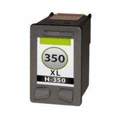 HP 350 Zwart  cartridge (huismerk)