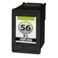 HP 56 Zwart cartridge (huismerk)