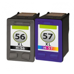HP 56 + HP 57 cartridge set (huismerk)