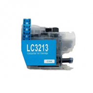 Brother LC-3213/3211 Cyaan (huismerk)