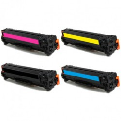 HP 305A & 305X (CE410X t/m CE413A) toners (huismerk)