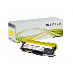Brother TN 326 toner geel (huismerk)