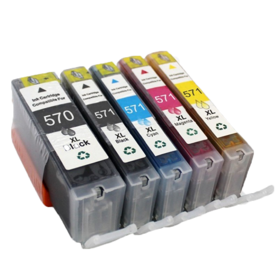 Canon 570 XL + 571 XL cartridges (huismerk)