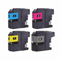 Brother LC-123 XL (4-Pack ) (huismerk)