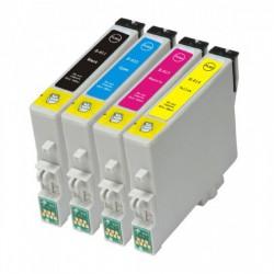 Epson 615 (Multi-4 Pack) cartridges (huismerk)