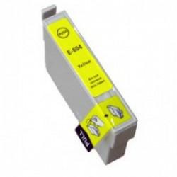 Epson 804 Yellow cartridge (huismerk)