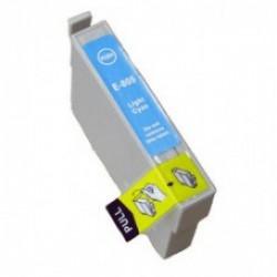 Epson 805 Light Cyaan cartridge (huismerk)