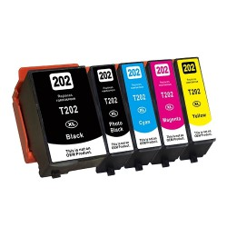 Epson 202XL 5-pack set (huismerk)