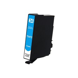 Epson 34XL Blauw - T3472XL huismerk cartridge