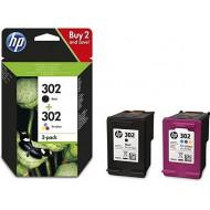 HP 302 DUO-pack (origineel)
