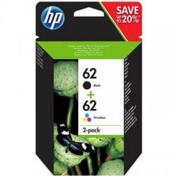 HP 62 Set cartridge (origineel) Voordeelverpakking!