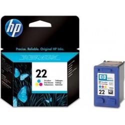 HP 22 Kleur cartridge (origineel)