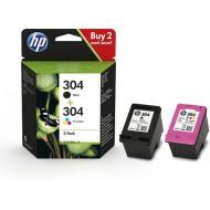 HP 304  Zwart en Kleur set (origineel)
