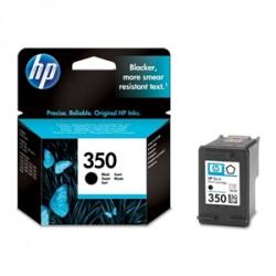 HP 350 Zwart  cartridge (origineel)