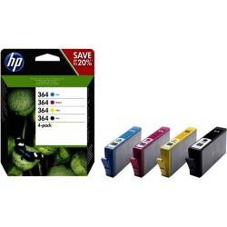 HP 364 Multi 4-Pack (origineel) inktcartridges