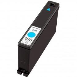 Lexmark 100XL cyaan cartridge (huismerk)
