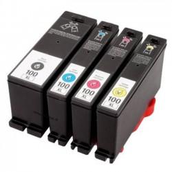 Lexmark 100XL set cartridges (huismerk)