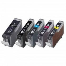 Canon 5 BK + 8 (Multi-5 Pack) cartridges