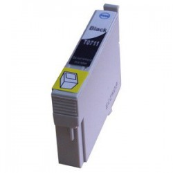 Epson 711 Black cartridge (huismerk)